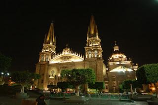 catedral de Guadalajara Jalisco Mexico. Turismo medico