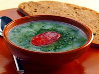 Caldo Verde Soup Oporto Portugal Gastronomy Food Traditional Dish