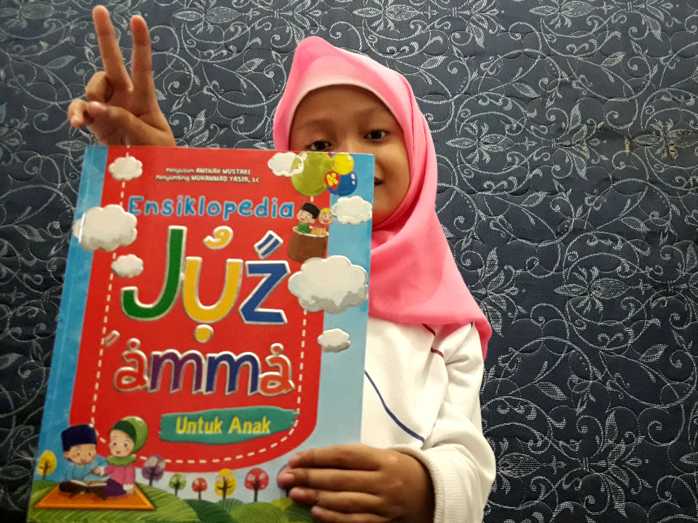 Ensiklopedia Juz Amma untuk Anak, Buku untuk Dibaca Berulang-ulang