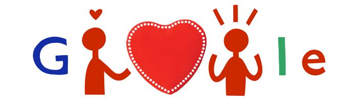 Doodles San Valentín 2014