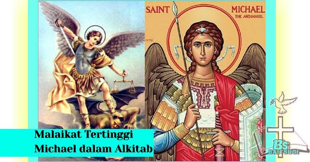 Malaikat Tertinggi Michael dalam Alkitab