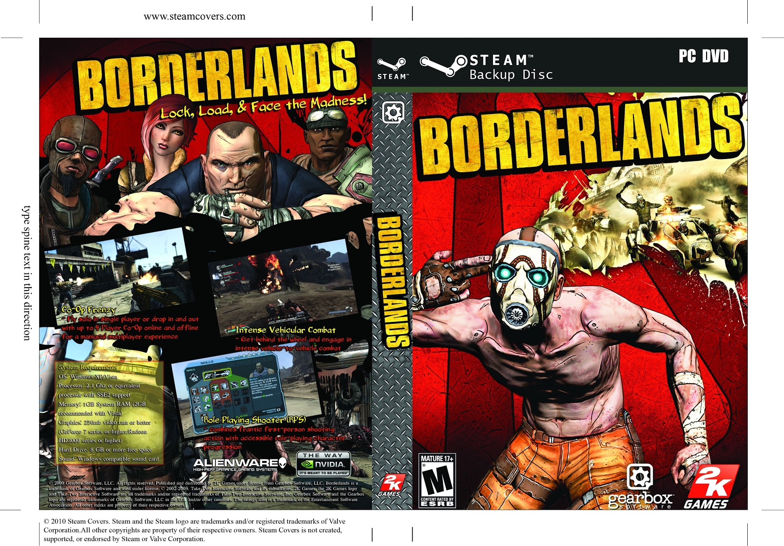 Capa Borderlands PC