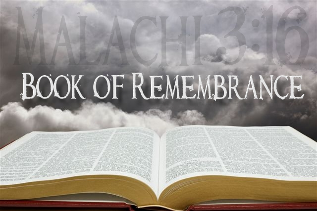 Image result for Book of Remembrance