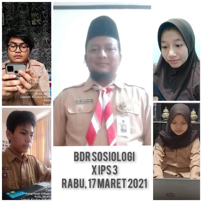 Sosiologi 10 IPS 3 (31 Maret 2021)