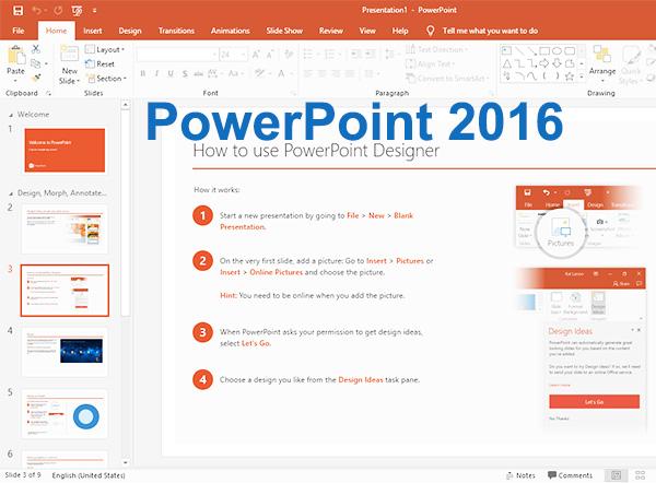 Tải PowerPowerPoint 2016   Tạo slide thuyết trình trên máy tính b