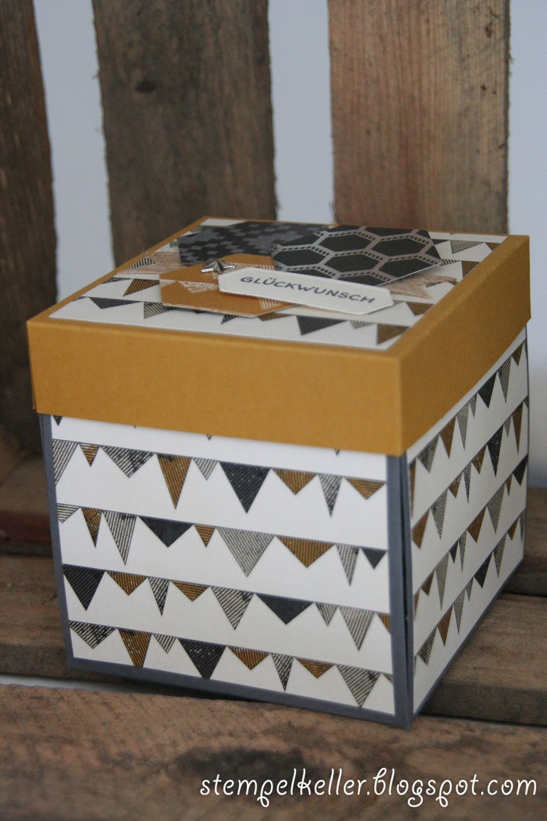 Stempelkeller Mannliche Explosionsbox Mit Wohnmobil Zum Geburtstag