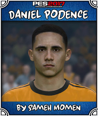 PES 2017 Daniel Podence Face by Sameh Momen
