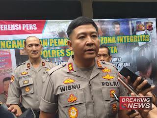 Kapolres Sukabumi Kota AKBP Wisnu Prabowo