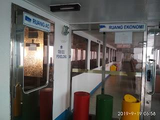KMP Naraya, Kapal Roro Ferry Terbaik Di Rute Lembar - Padang Bai