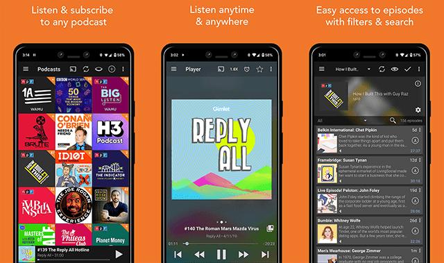 Aplikasi Podcast Addict