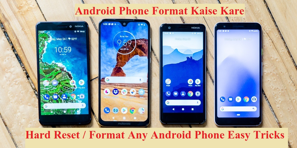 Android Phone Format Kaise Kare