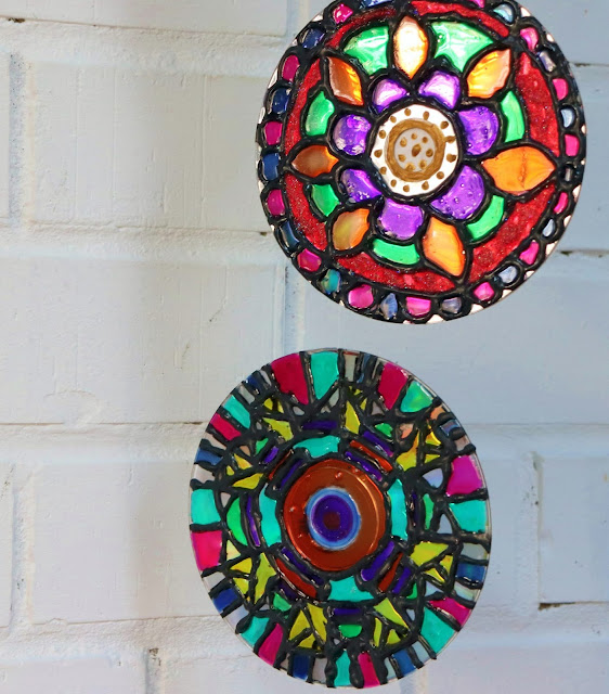 Glass Painting on CDs