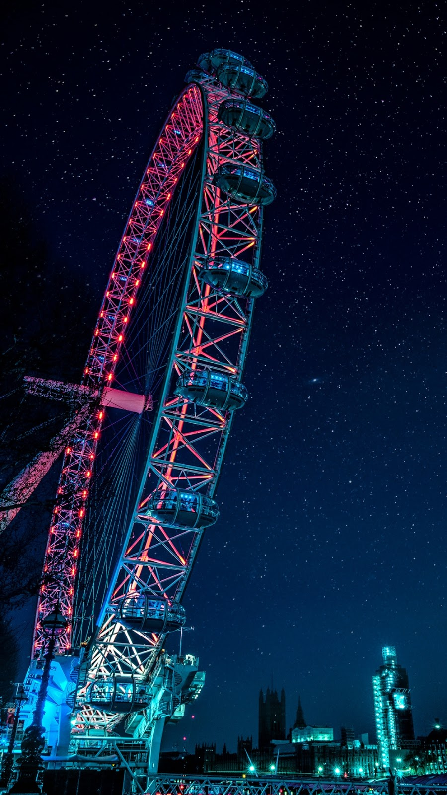Aesthetic night sky