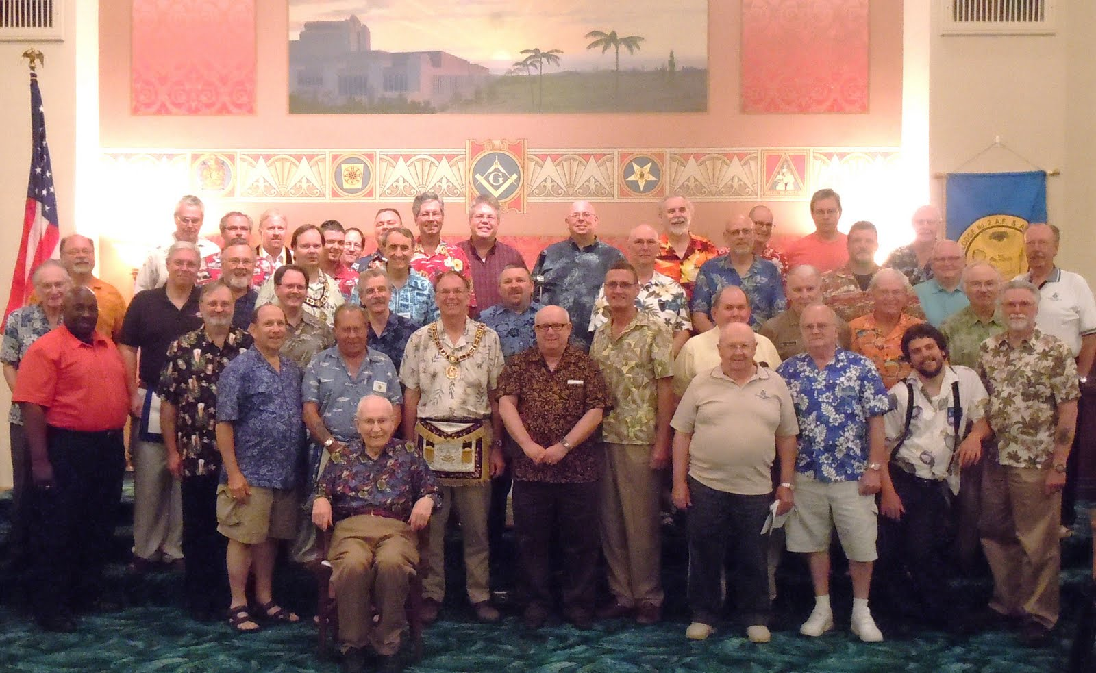 1967dc23a All Things Masonic: Hawaiian Shirt Night