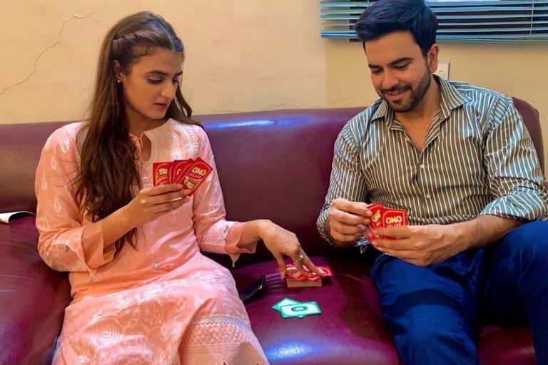 Hira Mani And Junaid Khan
