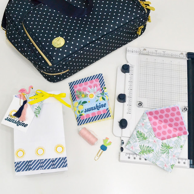 The Works All In One Tool and Storage Bag by We R Memory Keepers