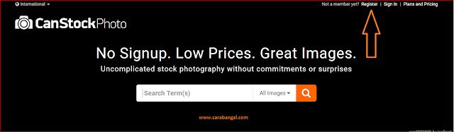 Cara Mendapatkan Uang Dari Canstockphoto
