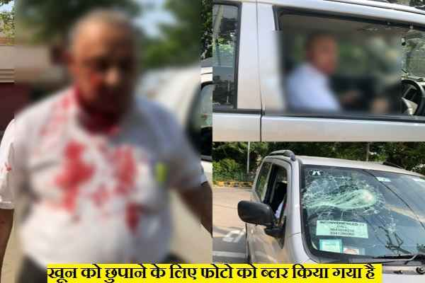 advocate-satinder-singh-duggal-attacked-in-sector-15-faridabad
