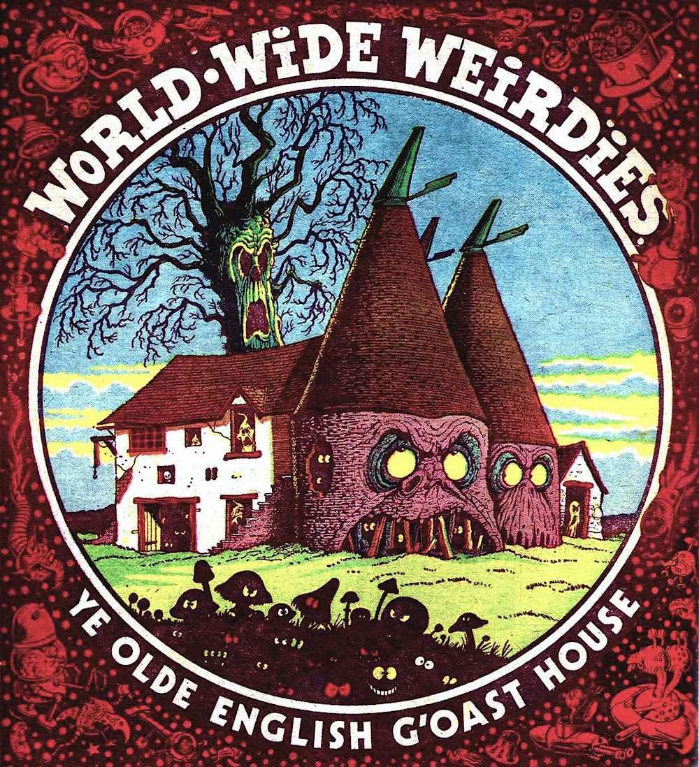 Ken Reid 1970s World Wide Weirdies, haunted house