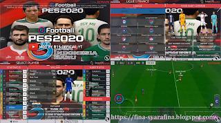 FTS Mod PES 2020 Soccer v1.5 Felipe Mods 2020/2021