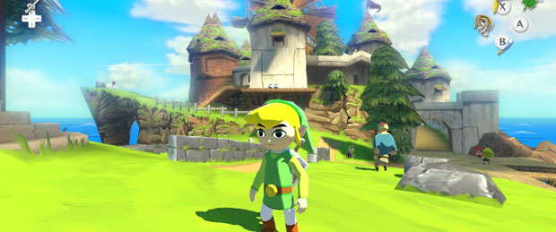 Zelda: Wind Waker HD Gameplay