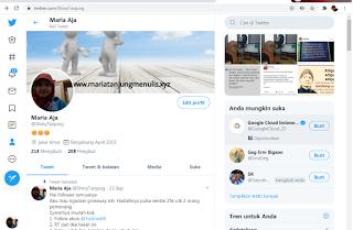 Akun Twitter Lama