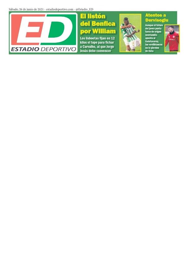 """Betis, Estadio Deportivo: """"Atentos a Dervisoglu"""""""