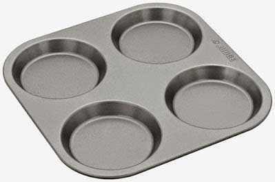 4 hole Yorkshire pudding tin