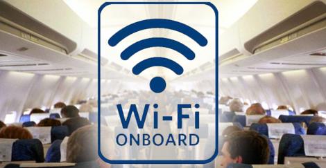 تعرف كيف تحصل الطائرات علي الانترنت في الجو