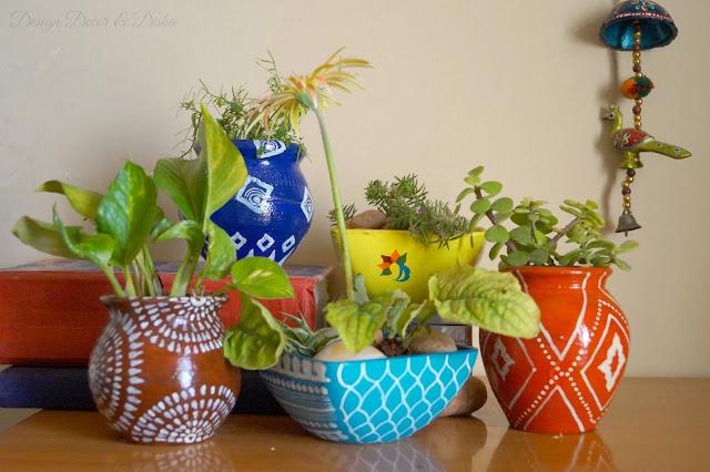 Anthropologie Garden Pots