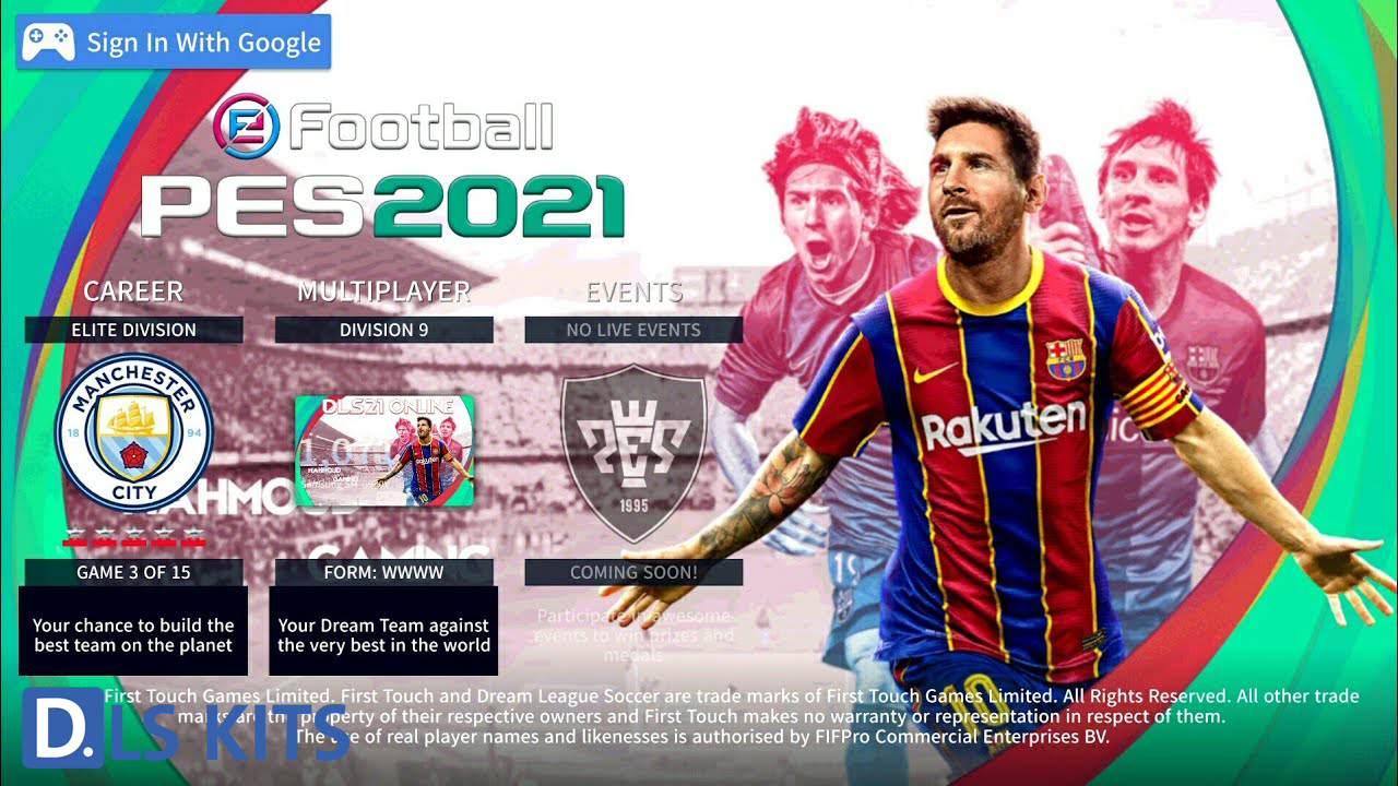 Download Dream League Soccer 2021 Mod DLS21 For Android Best Graphics size 250MB