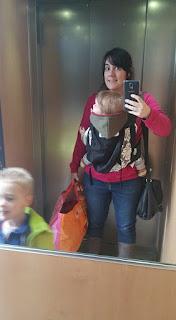 portage avec sash mei tai infantino