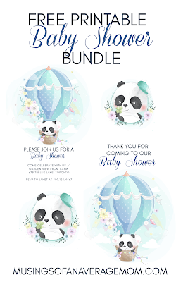 free baby shower printables,