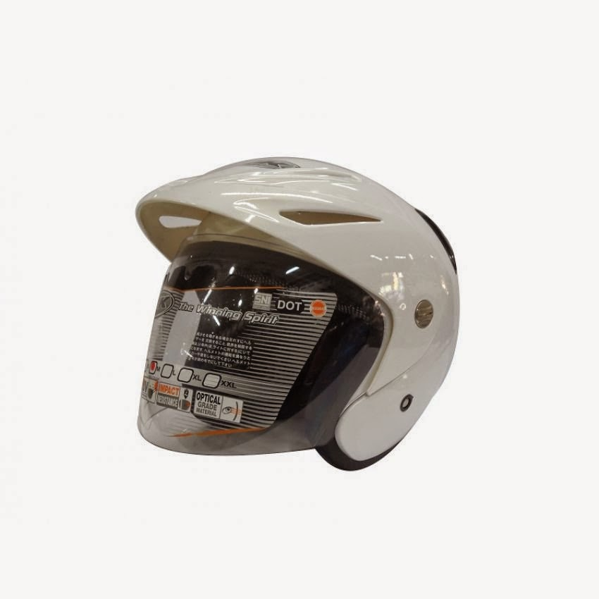 Harga Helm INK - CX 22 Half Face - Putih