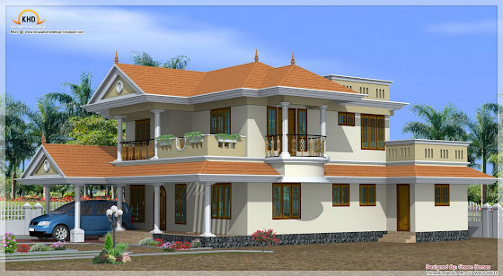 Duplex home design - 225 Square Meter (2425 Sq.Ft.) - November 2011