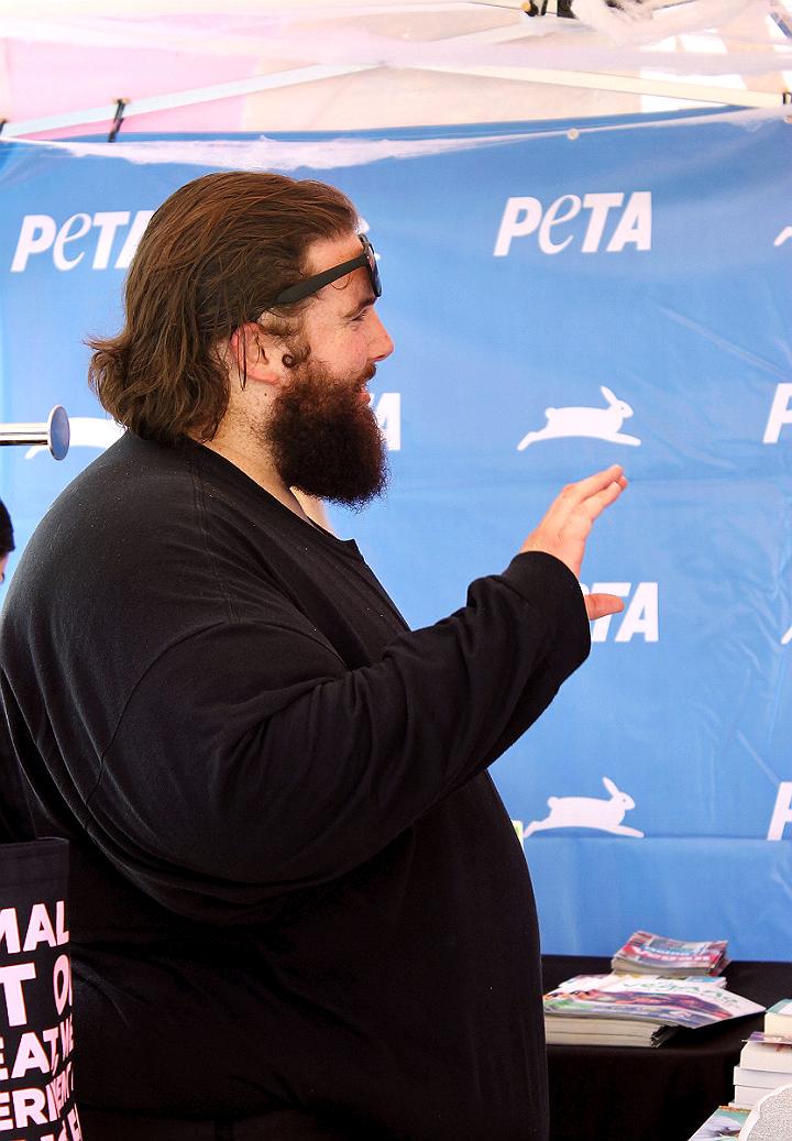 #SoCalVegFest PETA