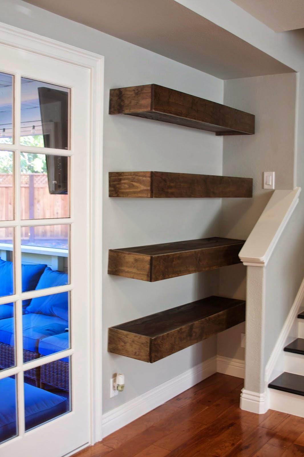 Simply Organized Simple Diy Floating Shelves Tutorial