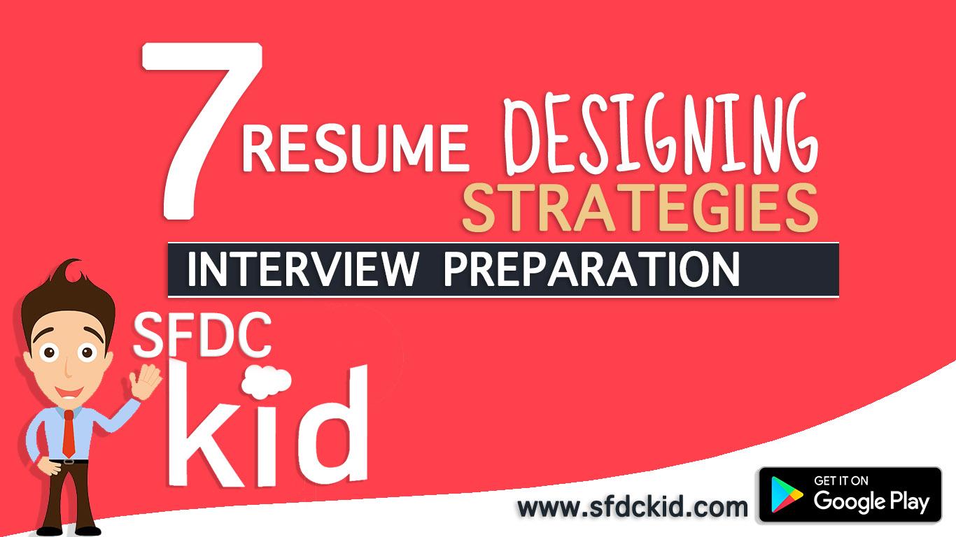 7 Resume Designing Strategies