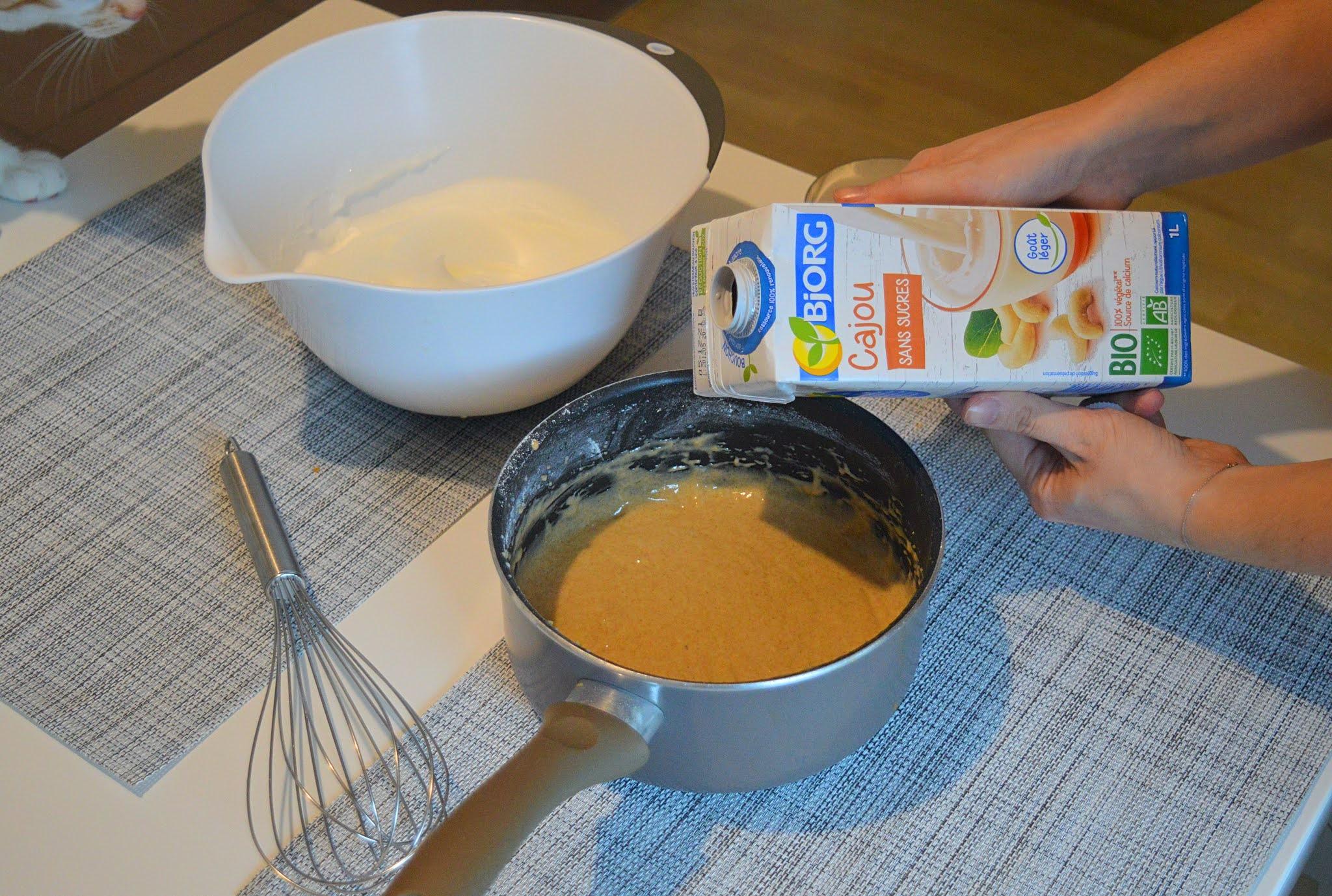 Lait végétal de cajou - Pancakes