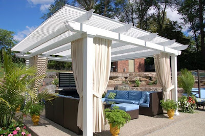 A conclusive guide to superb jewellery of home pergolas! Find here