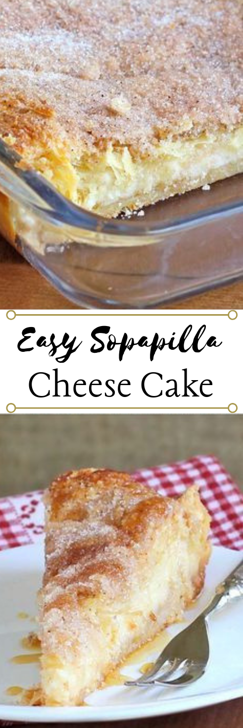 Easy Sopapilla Cheesecake #dessert #bars #healthycake #pie #easy