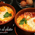 Huevos al plato con chorizo, baicon y queso