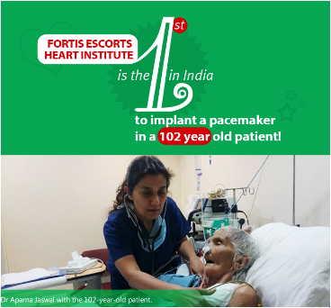 implanted a pacemaker