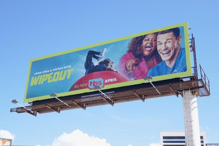 Wipeout TV reboot billboard