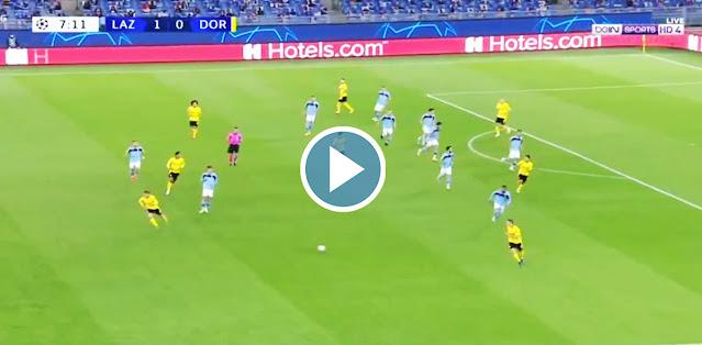 Lazio vs Borussia Dortmund Live Score