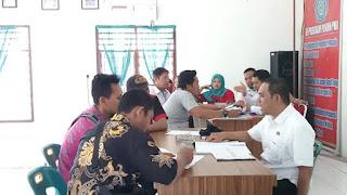Dinas PMD Kabupaten Labuhanbatu Monitoring dan Evaluasi BUMDesa se Kecamatan Bilah Hulu
