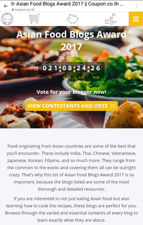 Lutong cavite lutong cavite is an asian food blogs award 2017 nominee click the view contestants and vote button forumfinder