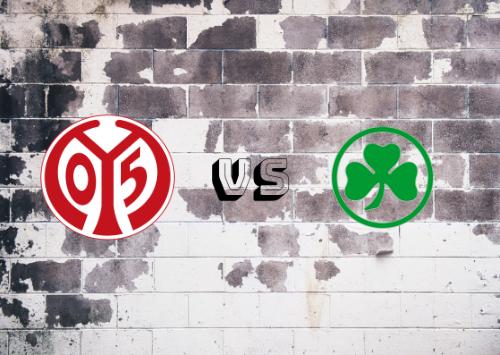 Mainz 05 vs Greuther Fürth  Resumen