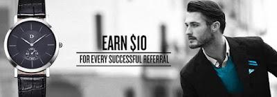 8. DapperTime Refer a Friend Program - Make $10 over and over