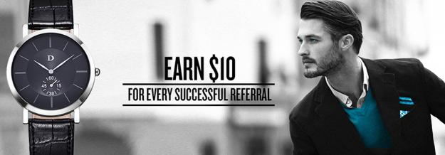 8. DapperTime Refer a Friend Program - Make $10 over and over